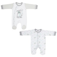 Baby Sleepsuit 2pk - Reach for the Stars