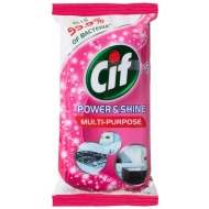 Cif Power & Shine Multi Purpose Wipes 60pk