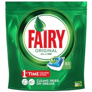 Fairy Platinum Original All in One Dishwasher Capsules 84pk