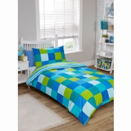 Kids Single Duvet Twin Pack - Green