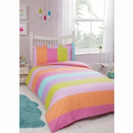 Kids Single Duvet Twin Pack - Spots & Stripes