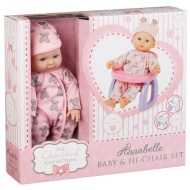 Baby & Hi-Chair Set - Annabelle