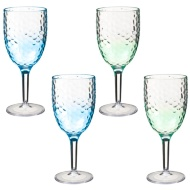 Ombre Wine Glasses 4pk