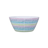 Small Printed Dinner Bowl - Dash