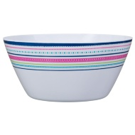 Large Printed Serving Bowl - Border