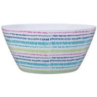 Large Printed Serving Bowl - Dash