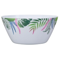 Large Printed Serving Bowl - Leaf