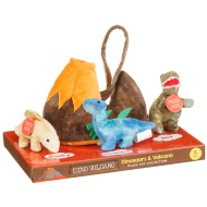 Dino Volcano Plush Toy Collection