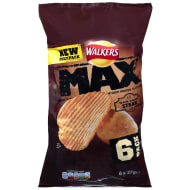 Walkers Max 6pk - Flame Grilled Steak