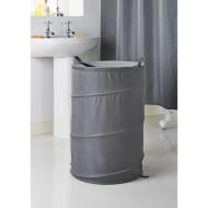 Addis Jacquard Pop-Up Laundry Hamper - Grey