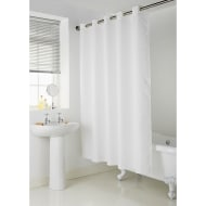 Addis Hookless Shower Curtain - White Waffle