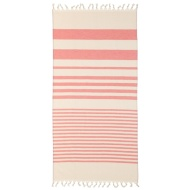 Hammam Tassel Beach Towel - Red