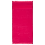 Hammam Tassel Beach Towel - Fuschia