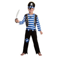 Dress-Up Outfit Age 3-5 - Blue Pirate