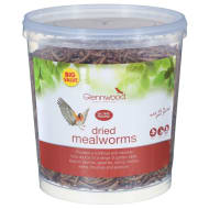 Glennwood Dried Mealworms 400g Tub
