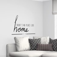 Quotes Wall Sticker - No Place Like Home