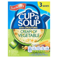 Batchelors Cup a Soup 3pk - Vegetable