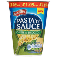 Pasta 'n' Sauce 65g - Cheese & Broccoli
