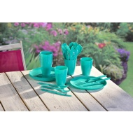 Picnic Dining Set 31pc - Green