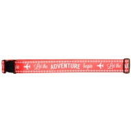 Printed Luggage Strap - Let the Adventure Begin