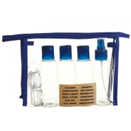 Travel Bottle Set 9pc - Navy