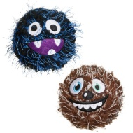 Crazy Ball Dog Toy - Brown & Blue