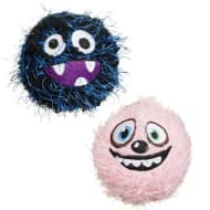 Crazy Ball Dog Toy - Pink & Blue