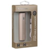 Goodmans 2500mAh Portable Charger - Gold