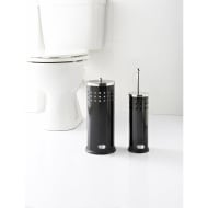 Addis Toilet Brush & Roll Holder Set 2pc - Black