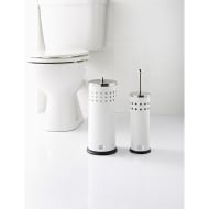 Addis Toilet Brush & Roll Holder Set 2pc - White