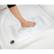 Addis Therapeutic Bath Mat - Clear