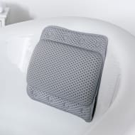 Addis Bath Pillow - Grey