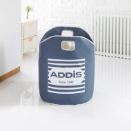 Addis Printed Laundry Bag - Navy