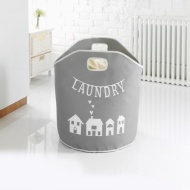 Addis Printed Laundry Bag - Grey