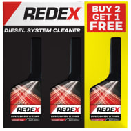 Redex Diesel System Cleaner 250ml 3pk