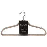 Sparkle Hangers 8pk - Smoke Grey