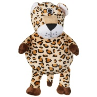Super Squeaker Dog Toy - Leopard