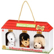 Rescue Kennel Puppies 3pk