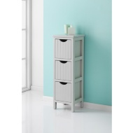 Maine Grey 3 Drawer Chest