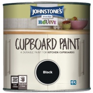 Johnstone's Revive Cupboard Paint 750ml - Black