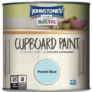 Johnstone's Revive Cupboard Paint 750ml - Pastel Blue