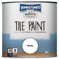 Johnstone's Revive Tile Paint 750ml - White
