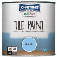 Johnstone's Revive Tile Paint 750ml - Blue Sky