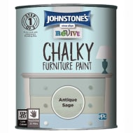 Johnstone's Revive Chalky Furniture Paint - Antique Sage