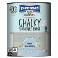 Johnstone's Revive Chalky Furniture Paint - Little Beau Blue