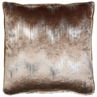 Milano Metallic Cushion - Pearl & Gold