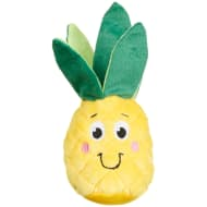Squeaky Plush Food Toy - Pineapple