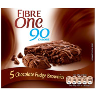 Fibre One Chocolate Fudge Brownies 5pk