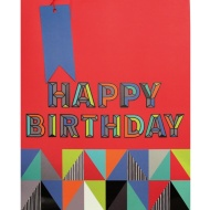 Large Gift Bags 2pk - Happy Birthday