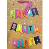 XL Gift Bag - Happy Birthday